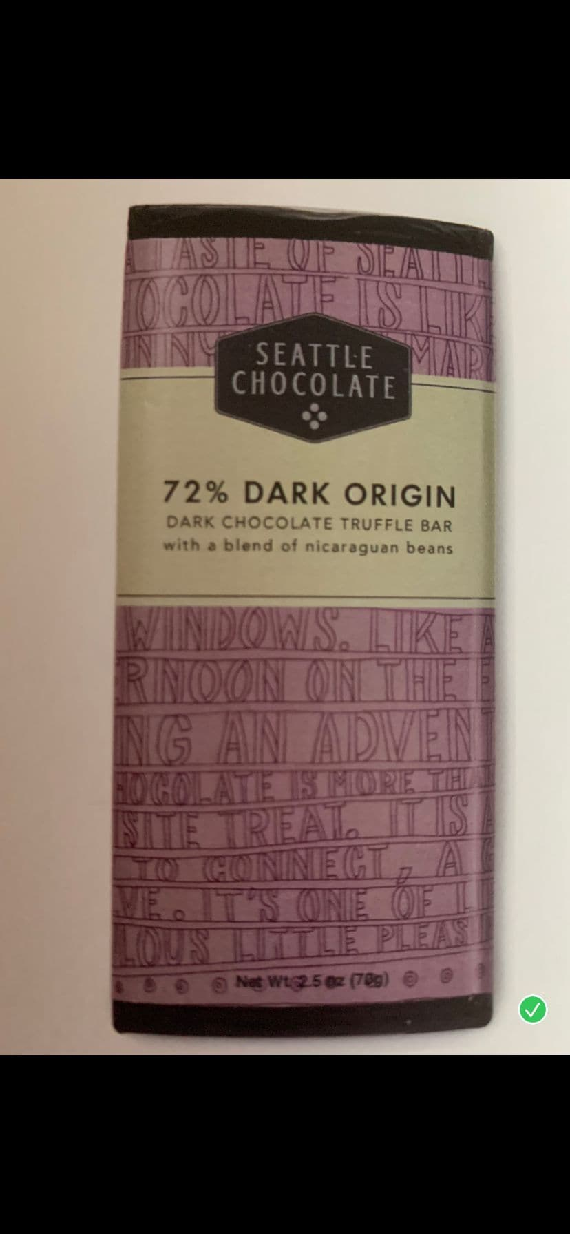 Seattle Chocolate Truffle Bars