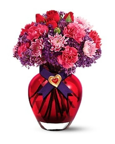 Teleflora's I Love You Bouquet Flower Arrangement