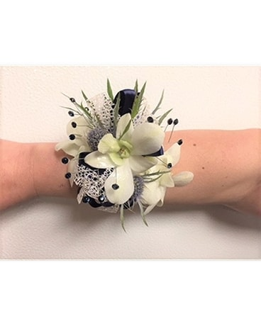 The Modern D Corsage
