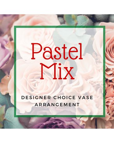 Pastel Custom Floral Flower Arrangement