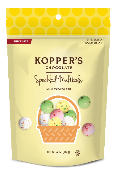 Koppers Speckled Malt Balls