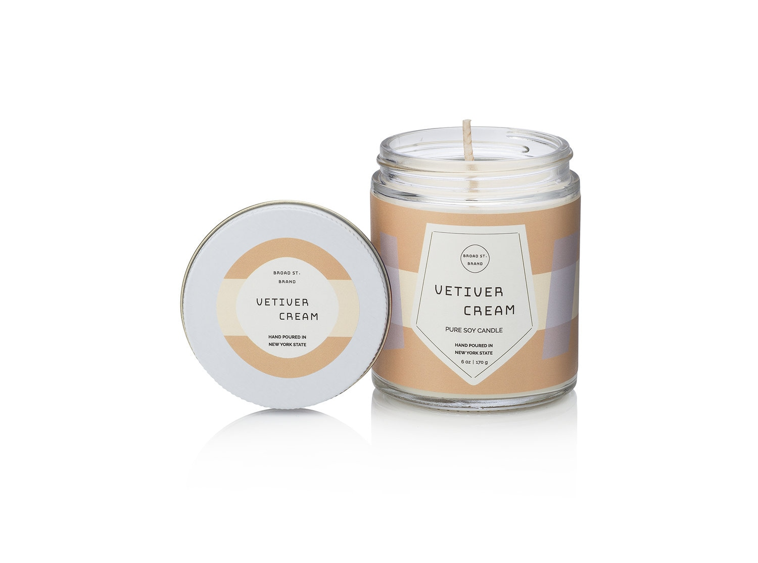 Kobo Vetiver Cream Candle