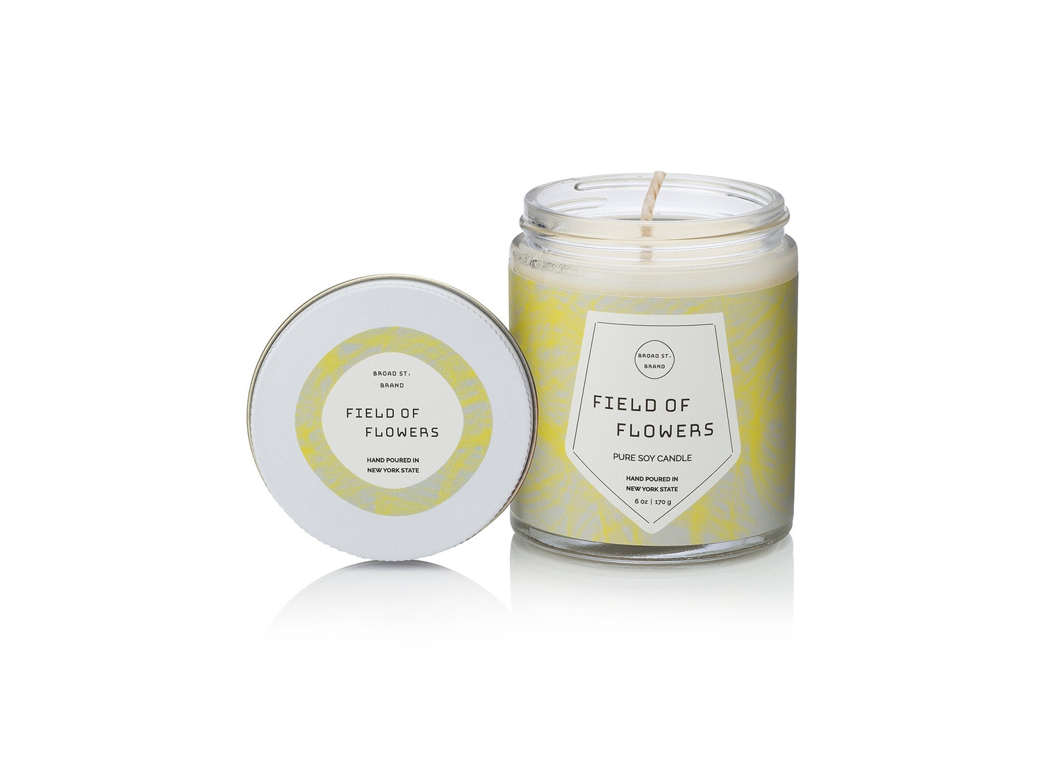 Kobo Field of Flowers Candle