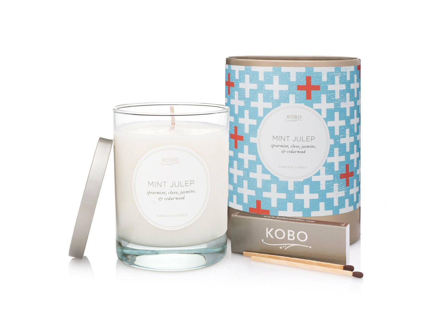 Kobo Mint Julep Candle