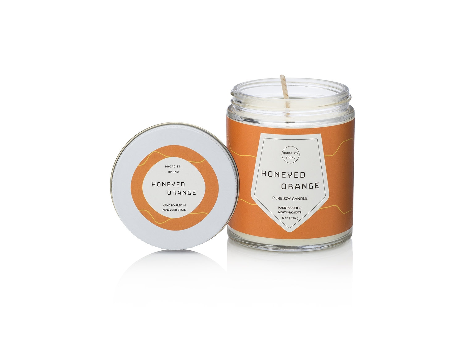 Kobo Honeyed Orange Candle