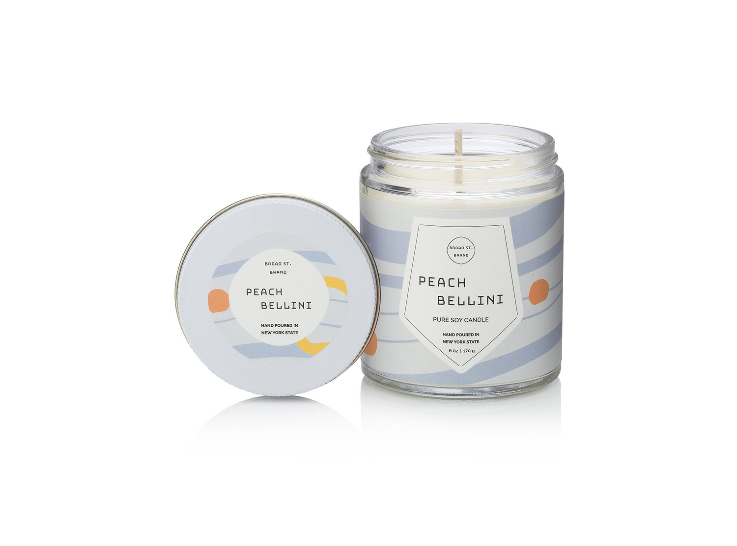 Kobo Peach Bellini Candle