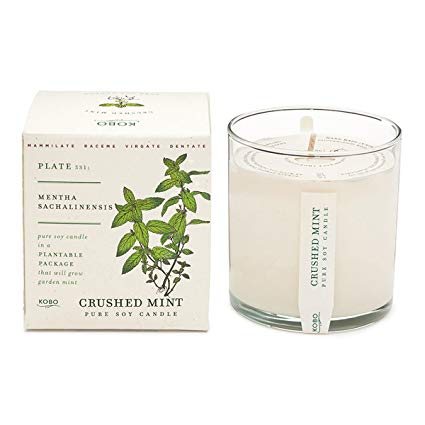 Crushed Mint Kobo Candle