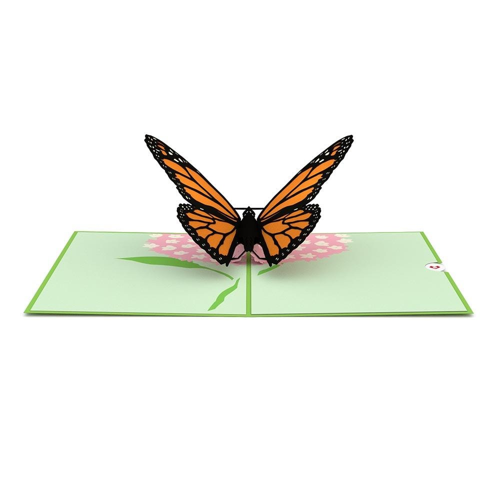 LovePop 3D Paper Sculpture Butterfly Card