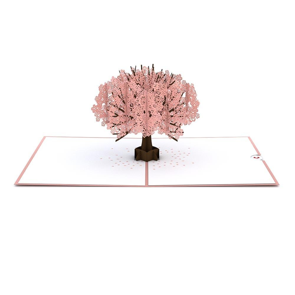 LovePop 3D Paper Sculpture Cherry Blossom Card