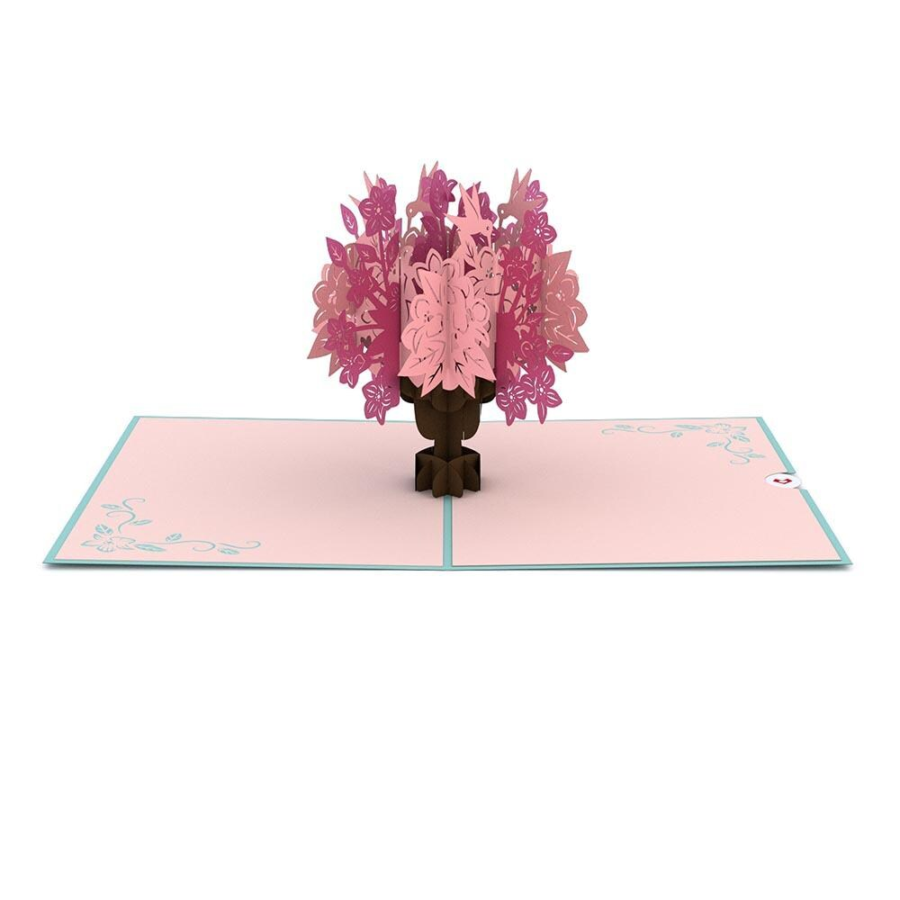 LovePop 3D Paper Sculpture Floral Bouquet Card