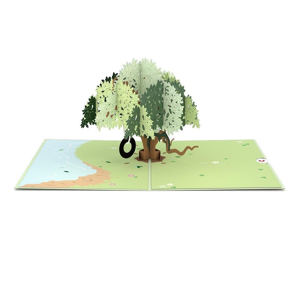 LovePop 3D Paper Sculpture Live Oak Card