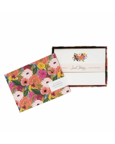 Juliet Rose Stationary Set