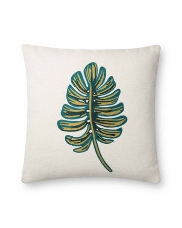 Rifle Monstera Embroidered Pillow Gifts