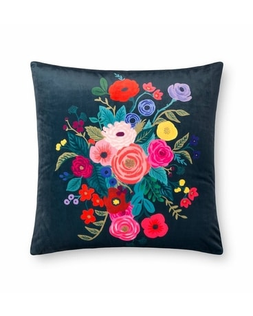 Rifle Juliet Rose Midnight Velvet Pillow Gifts