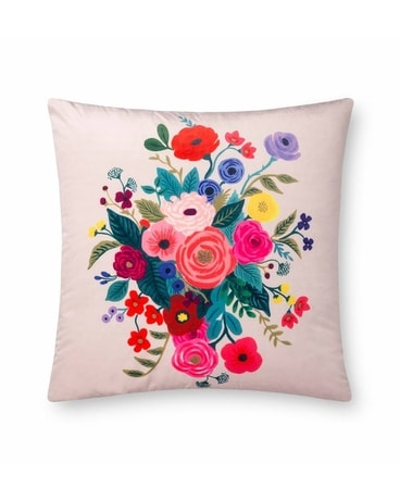 Rifle Juliet Rose Bouquet Velvet Pillow Gifts