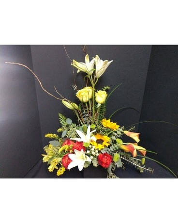 Earthy Elegance Flower Arrangement