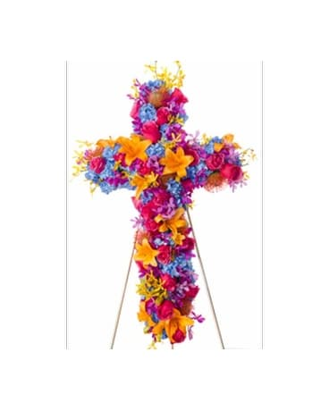 Radiance - Bright Cross Flower Spray Flower Arrangement
