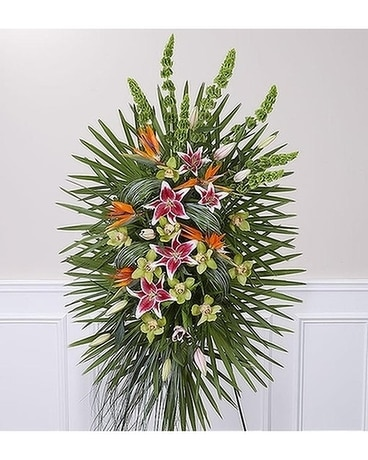Eternal Paradise™ Standing Spray Flower Arrangement
