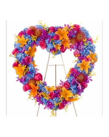 Radiance - Bright Heart Flower Spray Flower Arrangement