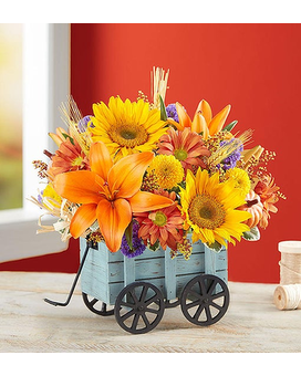 Harvest Hayride™ Flower Arrangement Flower Arrangement