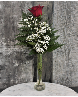 Rose in a vase Flower Arrangement