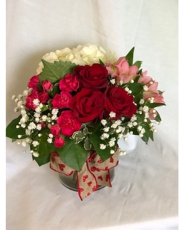 Vday Special Flower Arrangement