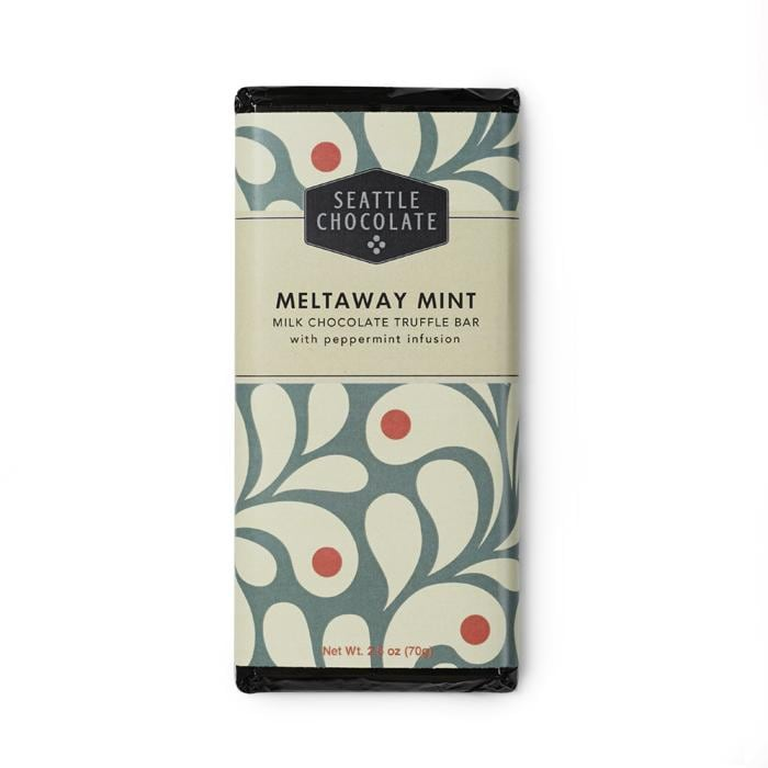 Meltaway Mint - Milk Chocolate Truffle Bar