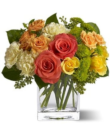 Teleflora's Citrus Splash Flower Arrangement