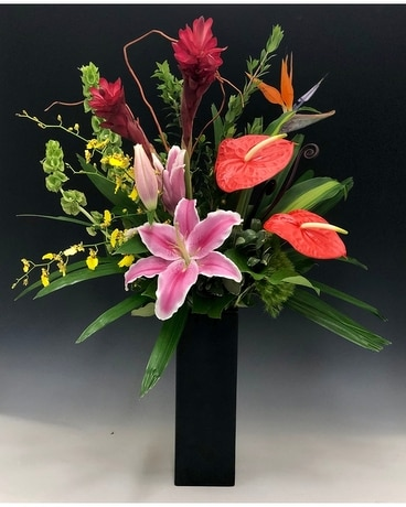 Love in Paradise Flower Arrangement
