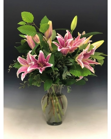 Do You Love Lilies? Flower Arrangement