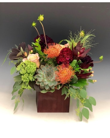 Fall Flourish Flower Arrangement