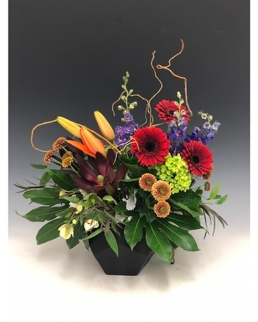 Vivid Visions Flower Arrangement