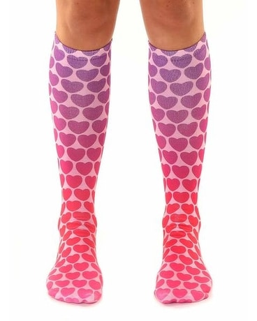 Living Royal Hearts Knee High Socks Gifts