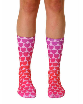 Living Royal Crew Heart Socks Gifts