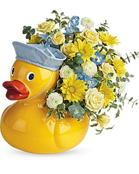 Teleflora's Just Ducky Flower Arrangement