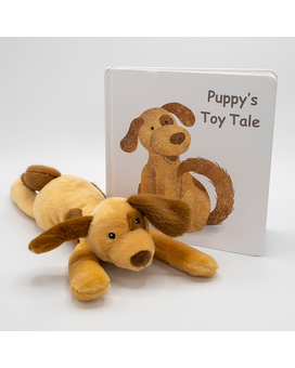 Puppy's Toy Tale Book with Puppy Gifts