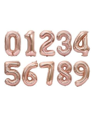 Number Balloons - 40inch Gifts