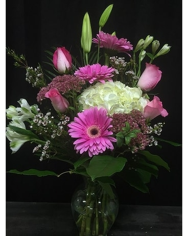 Custom Vase Arrangement Flower Arrangement