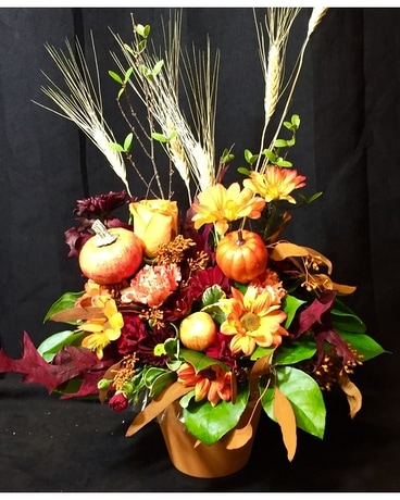 MF-fall20 Flower Arrangement