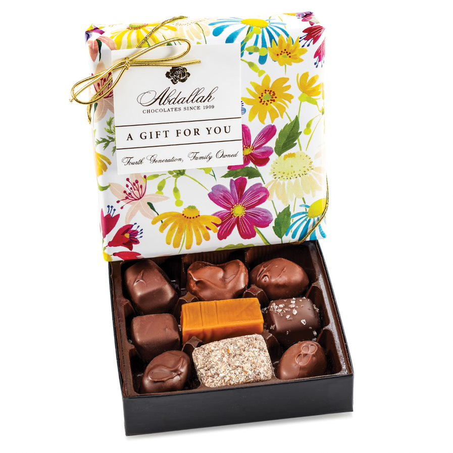 Chocolate Assortment In Floral Wrap
