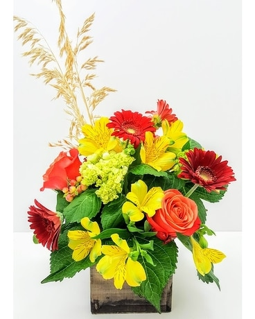 Autumn Beauty Flower Arrangement