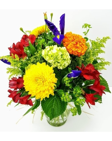 Scent of Fall Flower Arrangement
