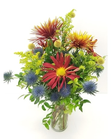 Thistle & Bloom Flower Arrangement