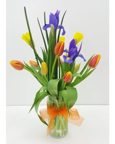 Spring Rising Flower Arrangement