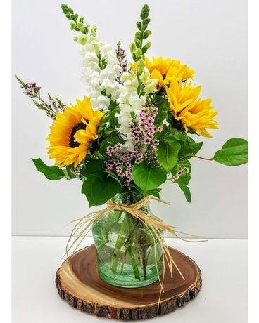 Day Brightener Flower Arrangement
