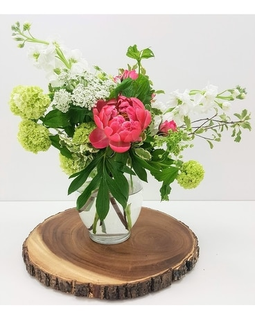 Classic Garden Flower Arrangement
