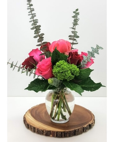 Blushing Flower Arrangement