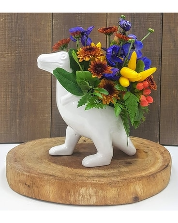 Dino the Dinosaur Flower Arrangement