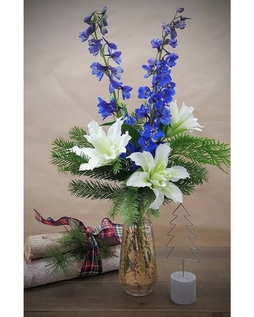 Sidecar Flower Arrangement