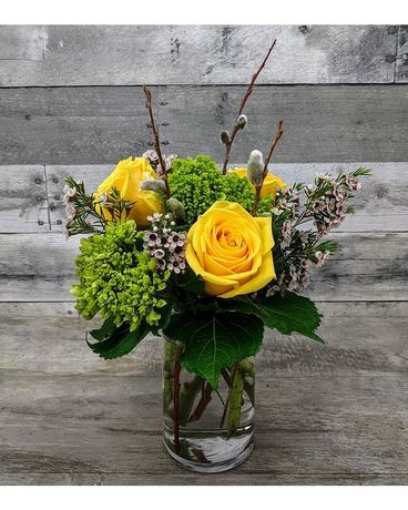 Warm Breeze Flower Arrangement